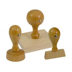 Houten Handstempels