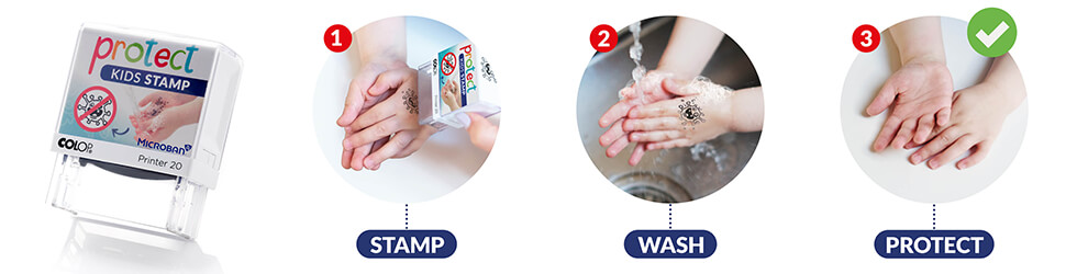 COLOP Protect-Kids-Stamp